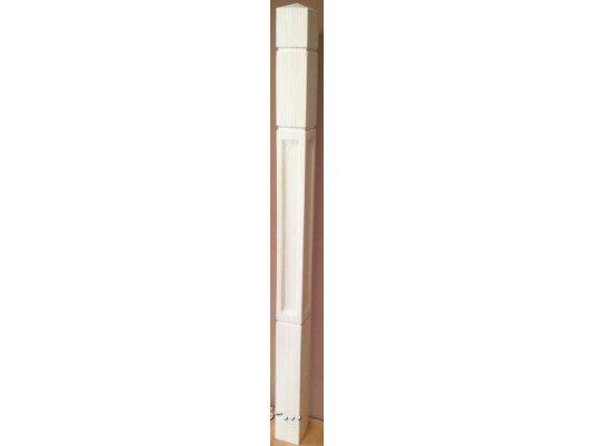 Тип №4 Столб начальный из сосны 120х120х1200 (на заказ)