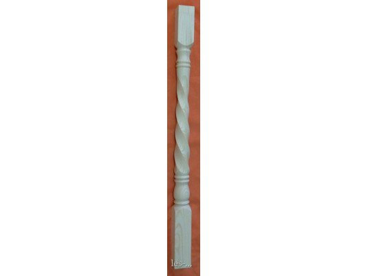 Тип №10 Балясина из сосны 150х150х1000 (на заказ)
