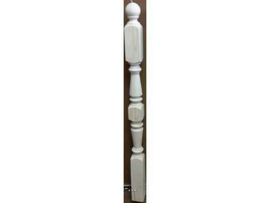 Тип К-1 Столб начальный из сосны 80х80х1200