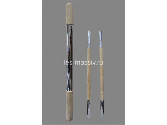 К-3 столб начальный комбинированный, лиственница, диаметр 70 мм