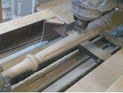 Изготовление балясин из дерева
