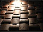 Стеновые 3D панели из дерева