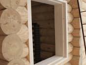 Обсада окон и дверей в деревянных домах