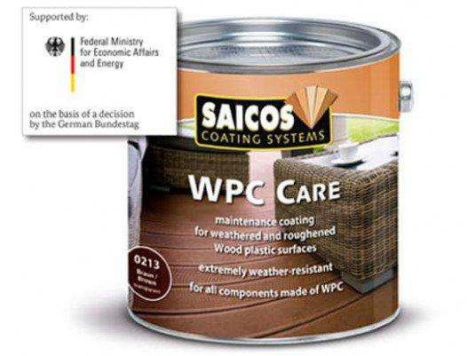 Покрытие WPC Pflege для ДПК 0223 Серый прозрачный 2,5л