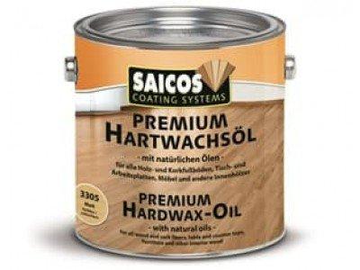 Масло с твердым воском Premium Hartwachsol- 3200 - Шелковисто-матовое 2,5л